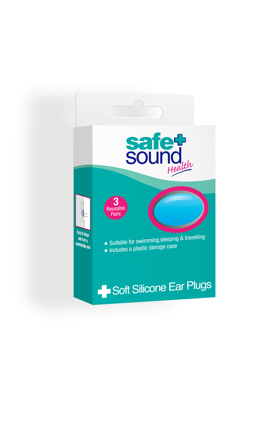Safe and Sound Health Silicone Earplugs