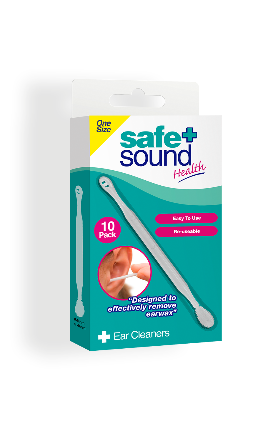 Safe and Sound Health's Reusable Earwax Cleaners
