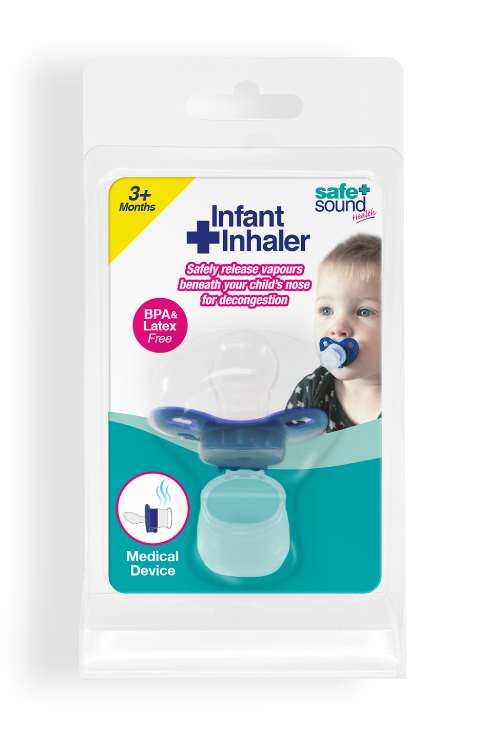 Safe and Sound Infant Decongestant Soother