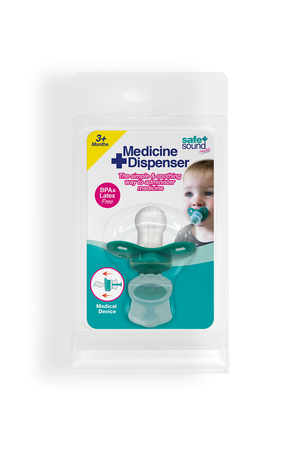 Safe and Sound Health Baby Medicine Dispenser
