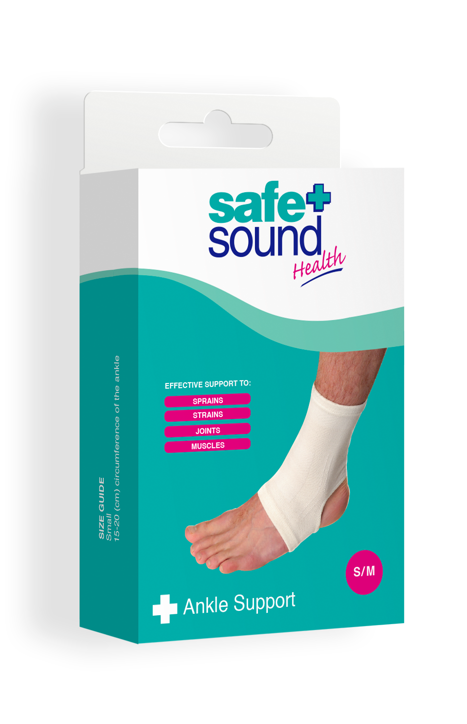 Safe and Sound Health's Ankle Support Small/Medium