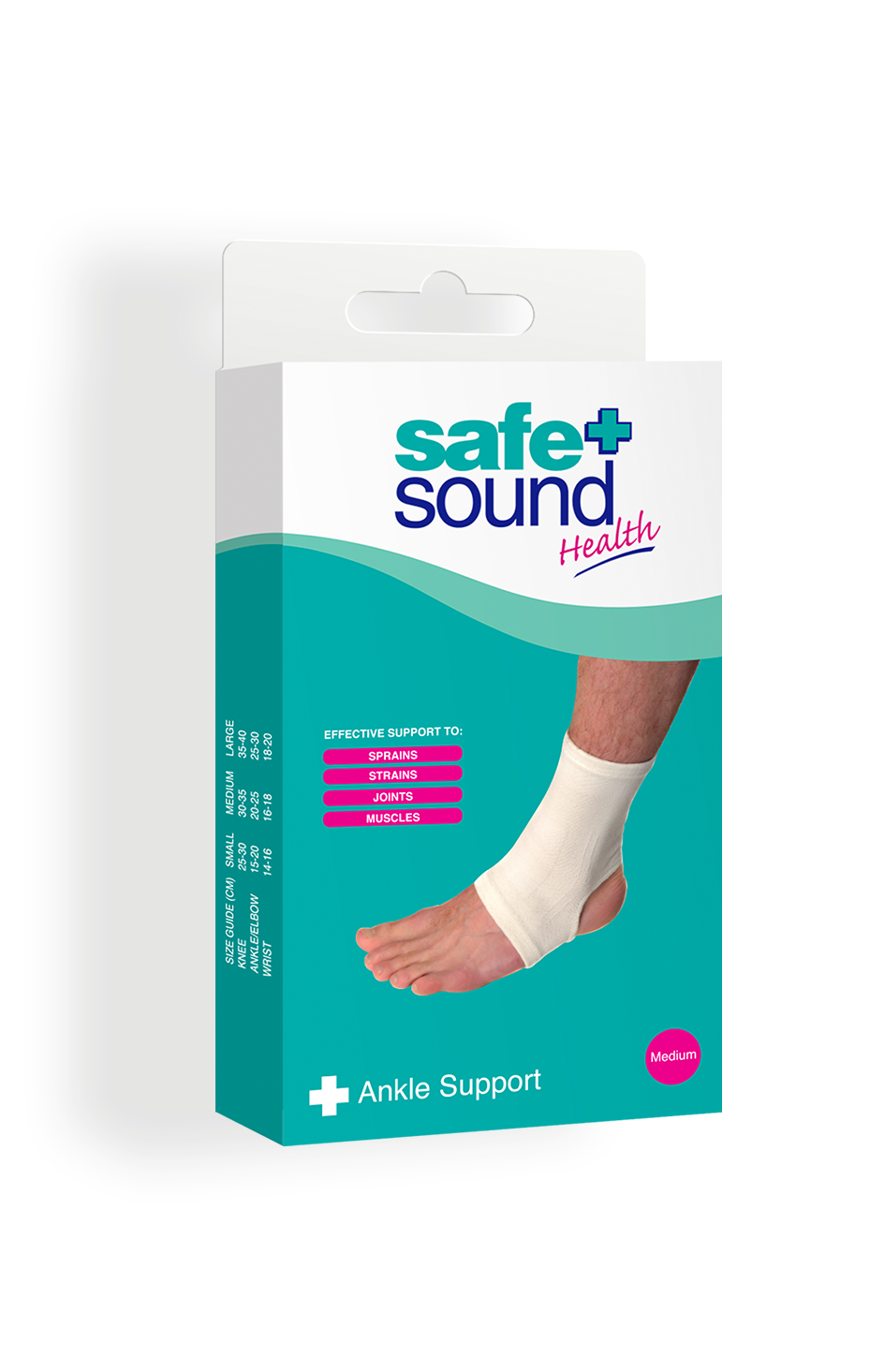 Safe and Sound Health Medium/Large Ankle Support