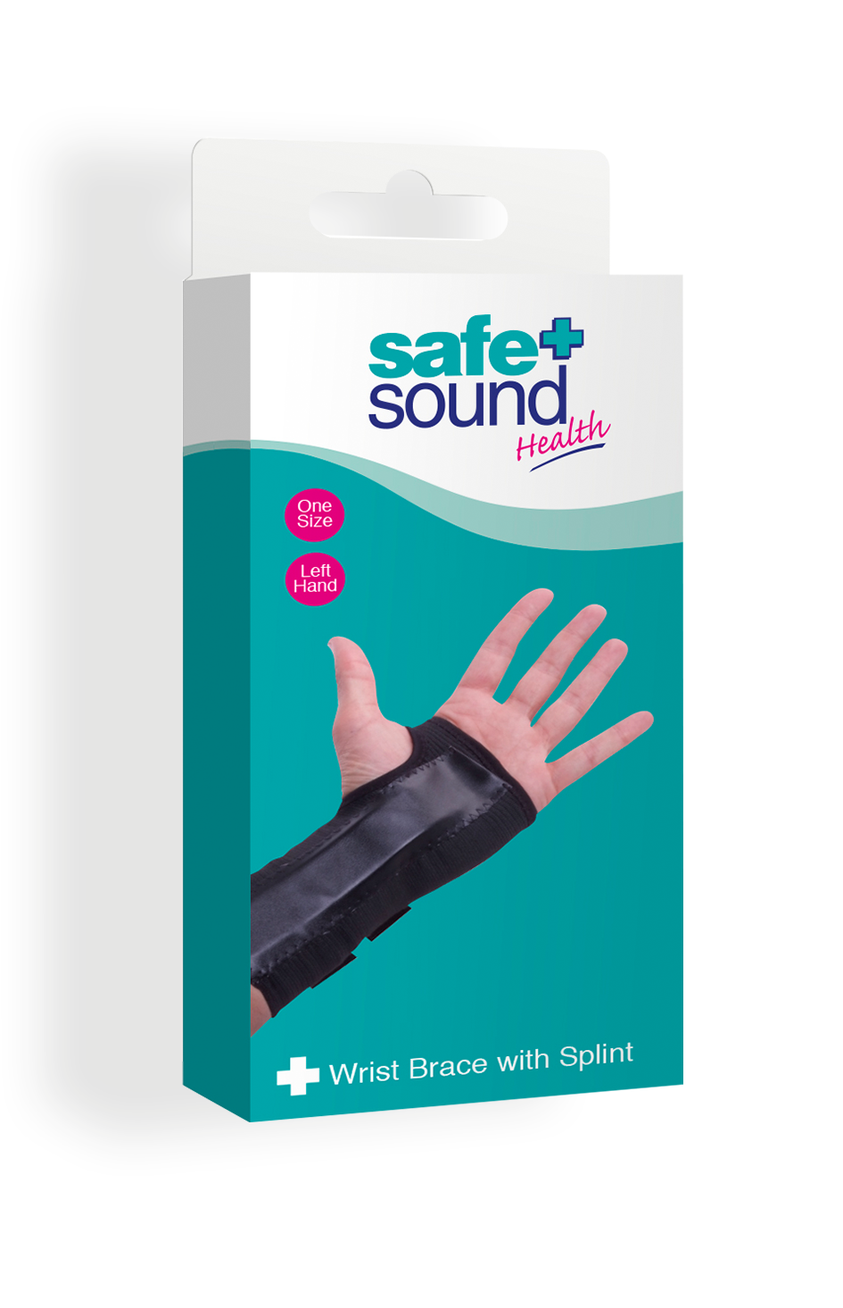 Safe and Sound Health Splinted Wrist Brace
