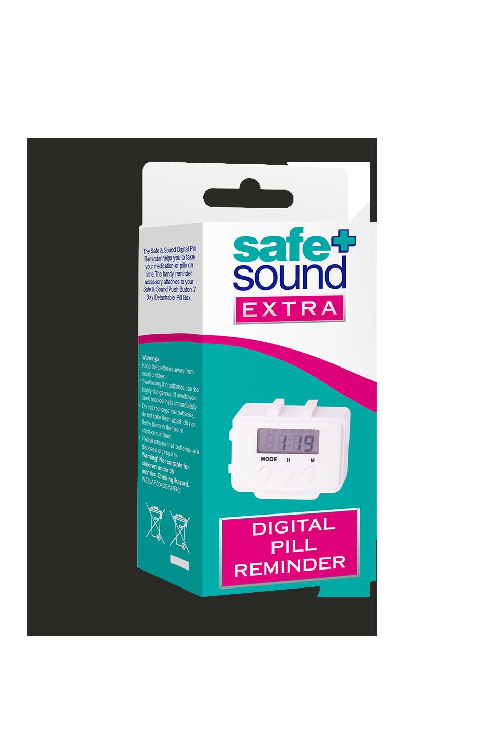Safe and Sound Health Digital Pill Reminder