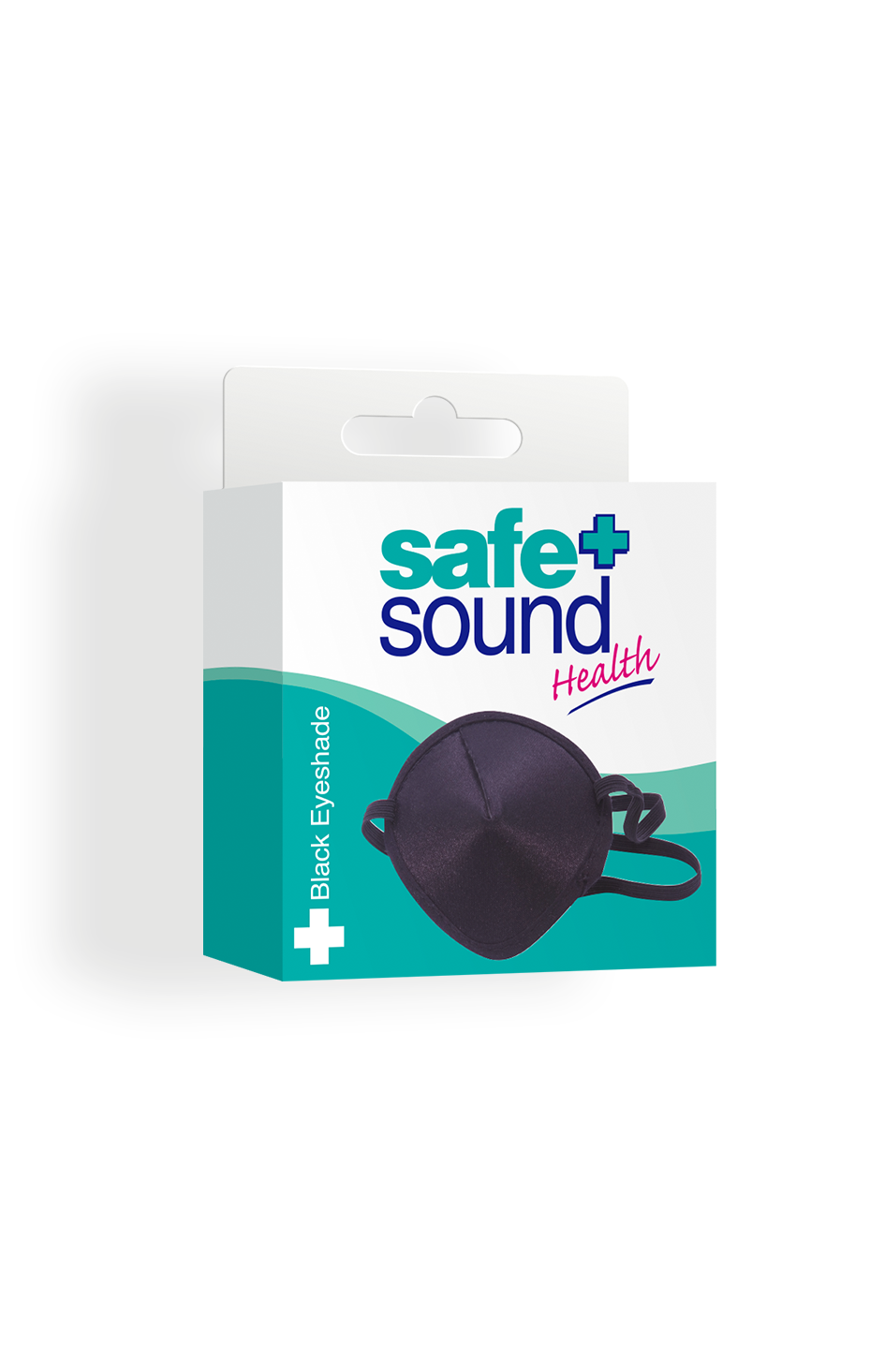 Safe and Sound Health Black Fabric Eyeshade