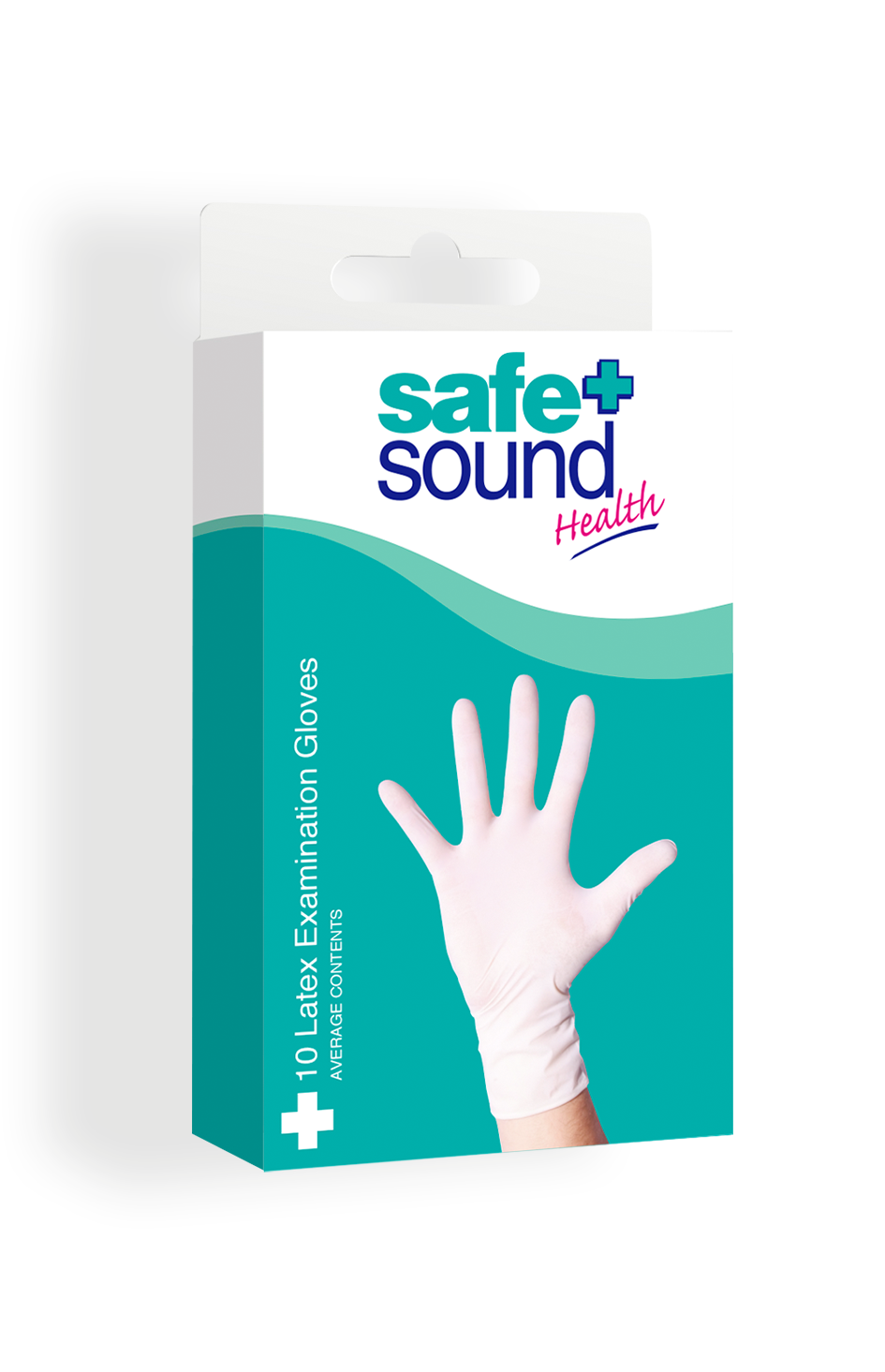 Safe and Sound Health Latex Gloves