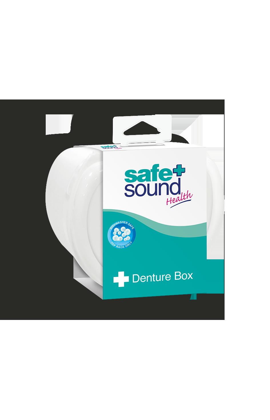 Safe and Sound Health Denture Box