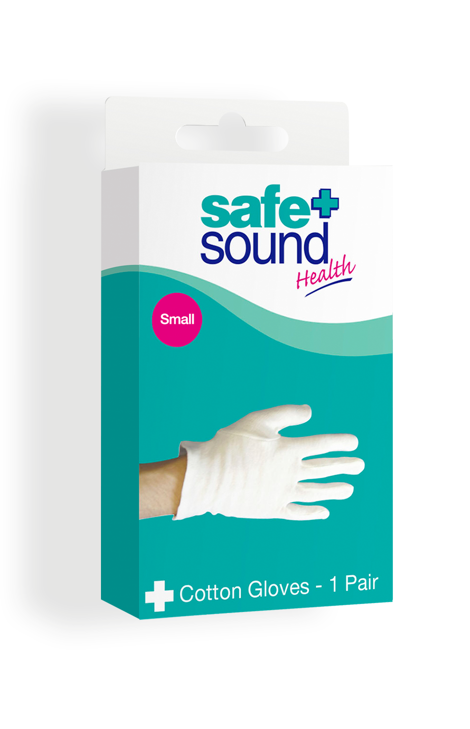 Safe and Sound Health Small Cotton Gloves