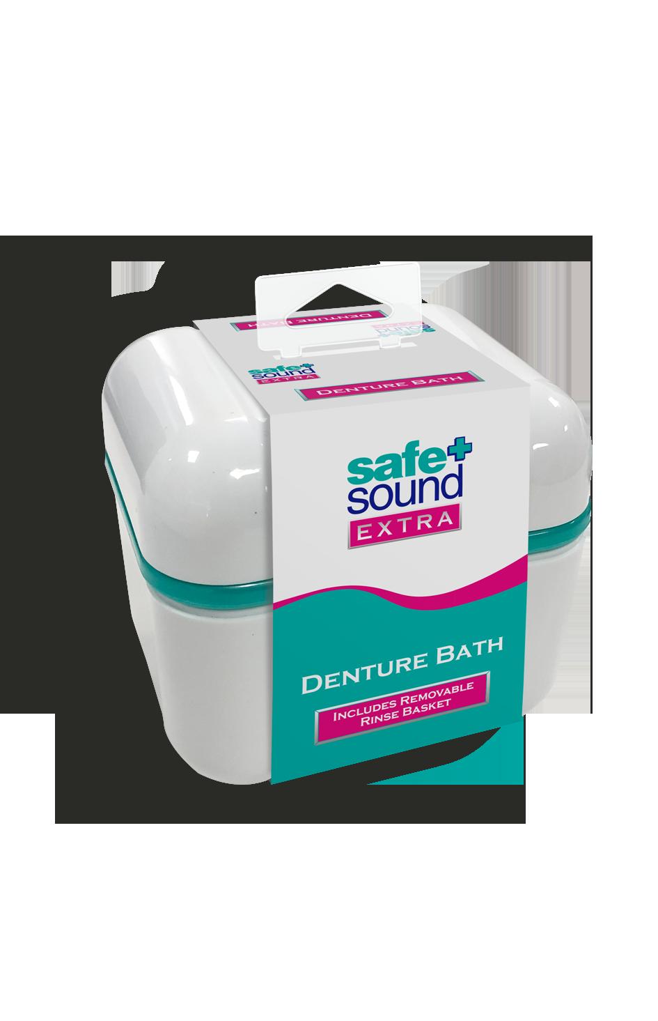 Safe and Sound Health Denture Bath