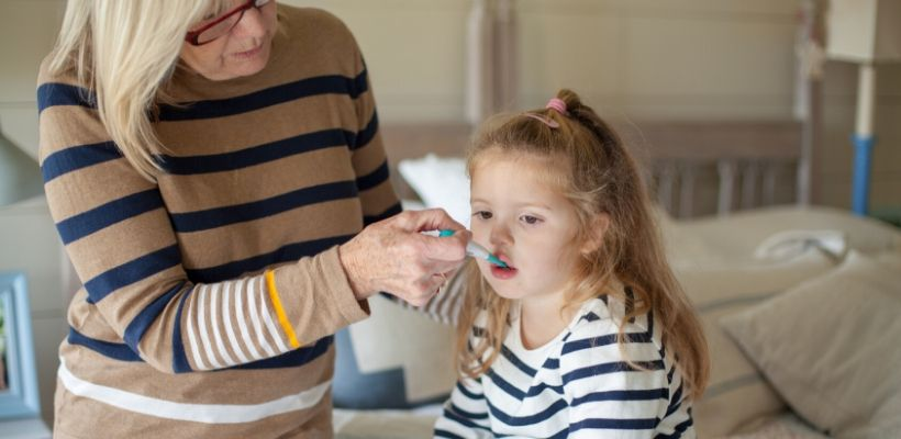 Oral thermometers take reliable temperature readings from inside the mouth. This type of thermometer is more suitable for older children and adults who are able to remain still while the thermometer records the temperature