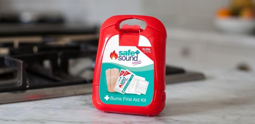 Safe and Sound Health's emergency burns first aid kit