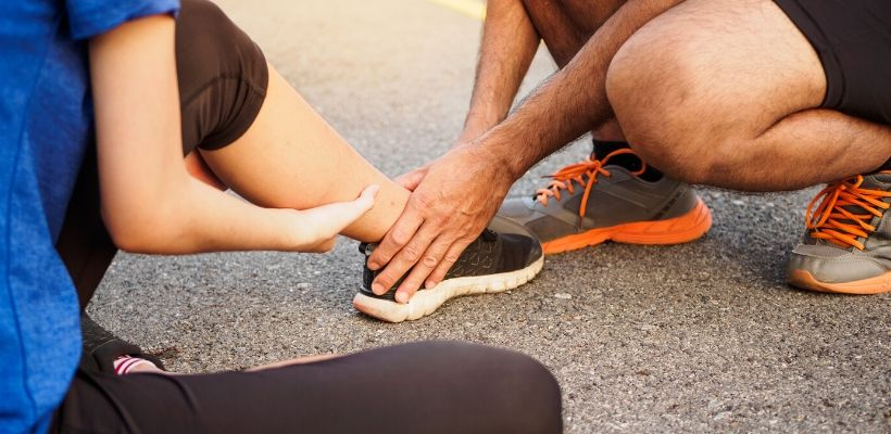 We often feel pain following an injury, such as a sprain or strained joint